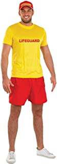 Mens Sports Costumes Adults 80s Wrestler Lifeguard Boxer Football Outifts