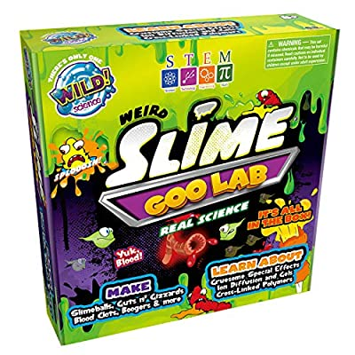 WILD! Science Weird Slime Goo Lab - Science Kits for Kids - Stem - Make Your Own Slime Experiments