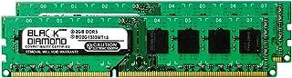 4GB 2X2GB RAM Memory for Gateway SX Series SX2803-US20P DDR3 DIMM 240pin PC3-10600 1333MHz Black Diamond Memory Module Upgrade