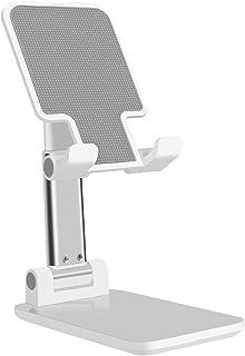 卓上 スマホ スタンド ホルダー タブレット スタンド 折り畳み式-DODOLIVE ipad/iPhone/携帯 スタンド, 高度調整可能 滑り止め コンパクト 軽量,iPh...