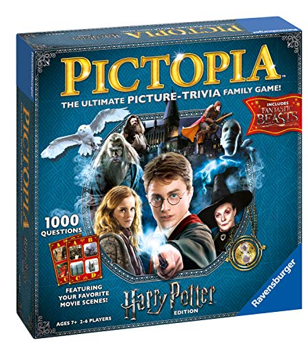 RVSB4 Ravensburger UK 26293 Ravensburger Pictopia-The Picture Trivia Game, da 7 anni in su, regalo perfetto per qualsiasi fan di Harry Potter [Versione Inglese]