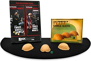 Magic Makers The Complete Street Magic Experience - Authentic Monte Kit including Magic Training by Sal Piacente, Performance Pad and Props By