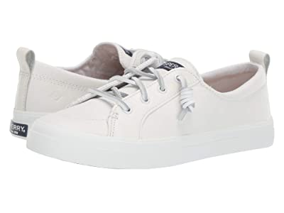 Sperry Crest Vibe Leather (White) Women