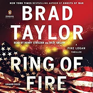 Ring of Fire audiobook cover art