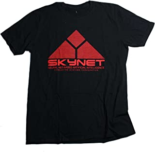 Inspired by The Terminator T Shirt - Skynet Logo 100% Official Classic 80's Movie T shirt