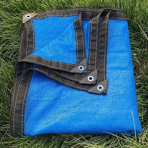 Mirui Sunblock Ombre Tissu Taped Edge et Œillets 85% Protection UV Ombre for Flower Garden Plante à Effet de Serre Grange Kennel (Blue Sea) (Taille: 2 m x 4 m) Taille: 8m x 8m (Size : 3m x 8m)