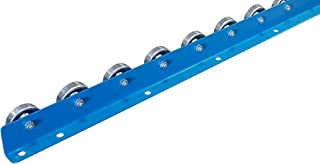 Conveyor Rails | Flow Rail 5′ Long Skate Wheel Conveyor | T2 Flow Rack System
