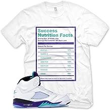 New SUCCESS FACTS T Shirt for Jordan 5 V Fresh Prince Grape NRG