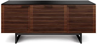 BDI Furniture Corridor Triple Wide Cabinet, Chocolate Stained Walnut