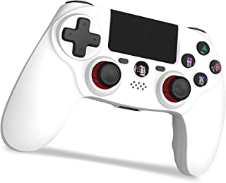 PS4 コントローラー SHINEZONE [2021年最新版] 600mAh FPS改良 Bluetooth 無線 HD振動 ゲームパット搭載 高耐久ボタン イヤホンジャック スピーカー DUALSHOCK 4用 PS3 コントローラー 最新...