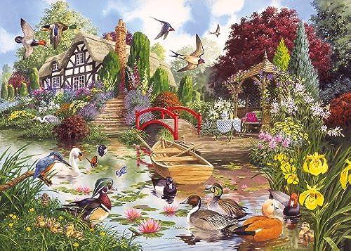 Gibsons Enchanted Garten Puzzle (1000 ück)