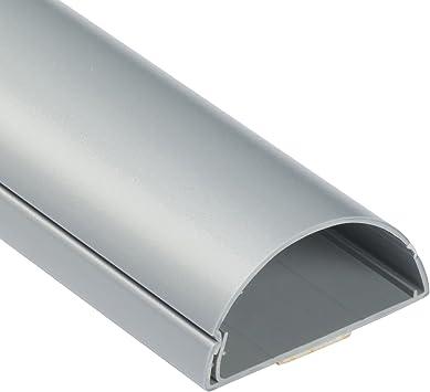 D Line 60x30mm Moulure Decorative En Demi Cercle 1m6030a Goulotte Electrique Cache Cable 1m Longeur Effet Aluminium Amazon Fr High Tech