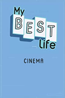2021 Diary MY BEST LIFE: with CINEMA - Weekly and Monthly Planner - Diary 2021 week to view – Pocket diary 2021 To Do List...