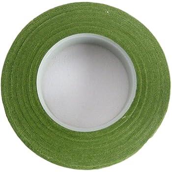 Grandmart 花資材 フローラテープ ローラテープ  造花テープ  1巻セット 幅13mm×長さ23m