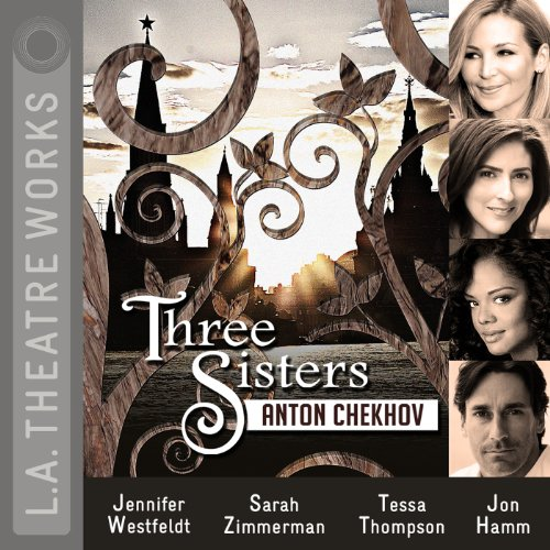 Three Sisters                   By:                                                                                                                                 Anton Chekhov                               Narrated by:                                                                                                                                 Tessa Thompson,                                                                                        Jennifer Westfeldt,                                                                                        Sarah Zimmerman,                   and others                 Length: 2 hrs and 2 mins     64 ratings     Overall 4.1