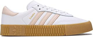 adidas Womens Originals Sambarose Trainers Sneakers in Footwear White/Linen.
