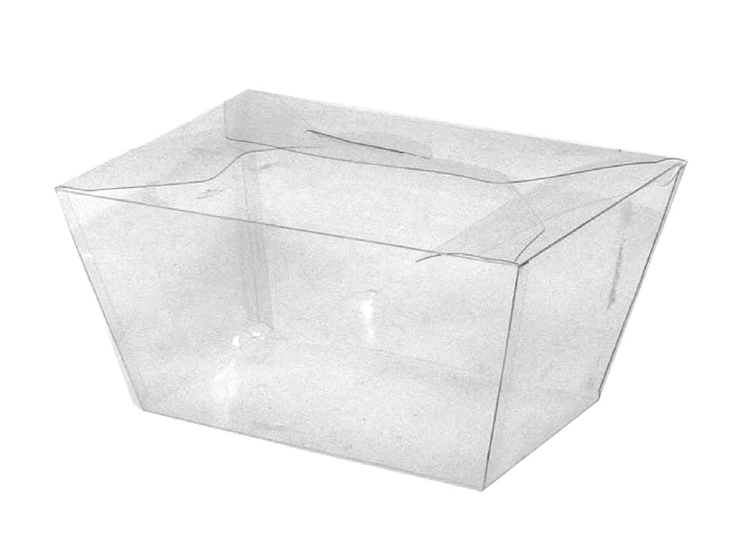 Choice-Pac N-31 Top-Opening, Tapered Rectangle Deli Box (Case of