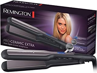 Remington S5525 Pro-Ceramic Piastra Extra Larga, Nero