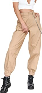 Amazon Es Beige Pantalones Mujer Ropa