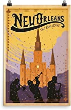 Vintage poster - New Orleans 0281 - Premium Luster Photo Paper Poster (24x36)