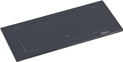 EVOline 159271005300 Backflip, 2 veiligheidscontactdozen, 1 st. USB-oplader, mat zwart