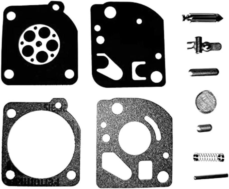 Max 61% OFF CAOREN Houston Mall Carburetor Repair Rebuild Kit RB-64 Zama Replaces RB64