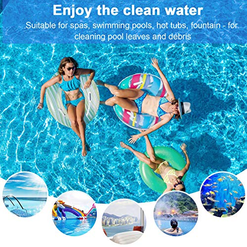 Homga Fine Mesh Pool Net, Professional Pool Skimmer, Swimming Pool Leaf Net for Cleaning Pool Rake Pool Cleaning Supplies (Pole is not Included)