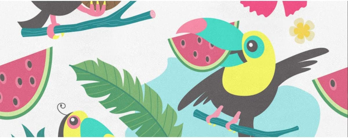 Wrapping Mesa Mall Paper Cheerful Friendly Gift Tropical Toucans Overseas parallel import regular item