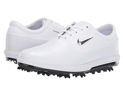 Nike Golf Air Zoom Victory Tour (White/Chrome/Platinum Tint/Vast Grey) Men