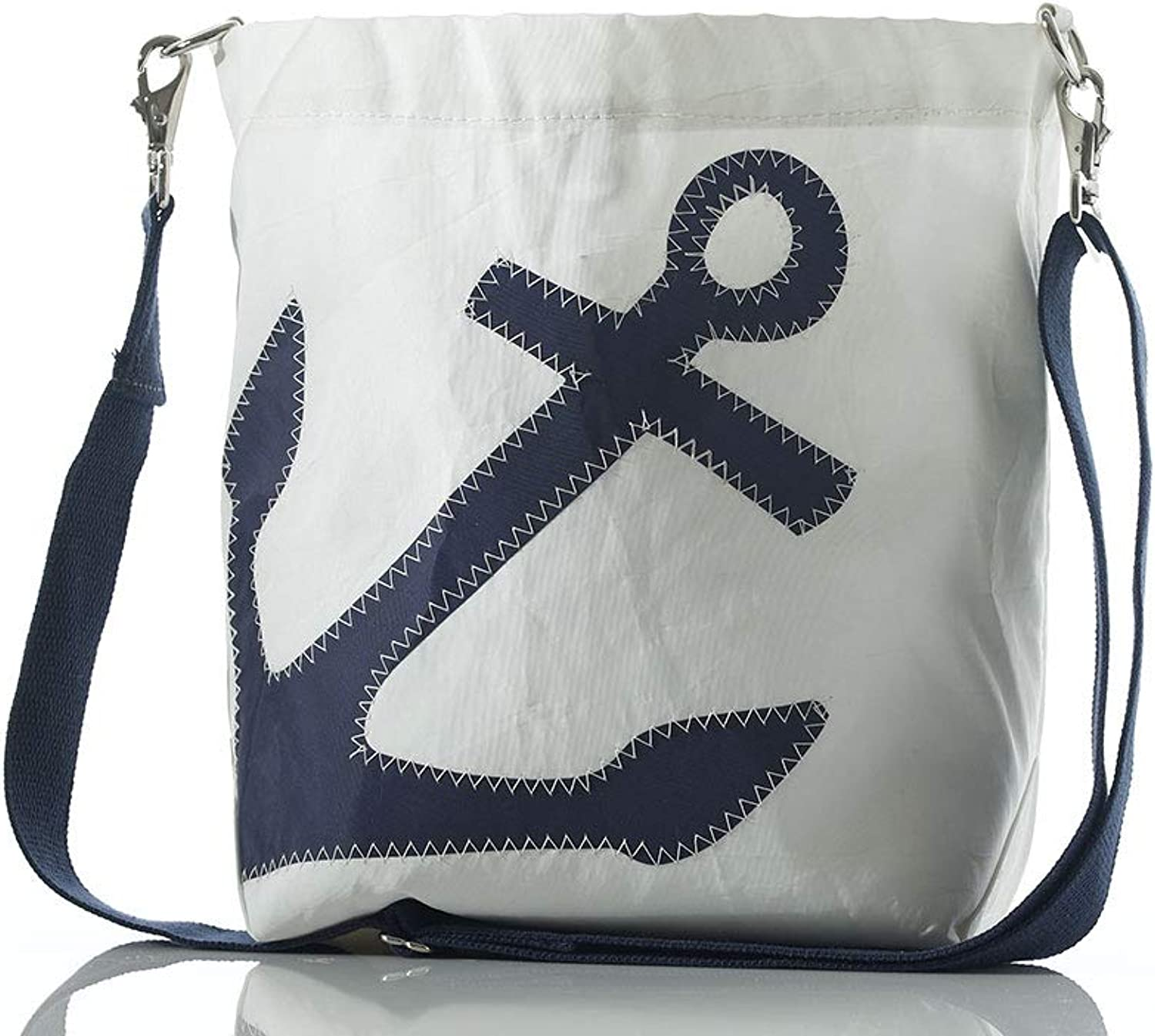 Sea Bags Recycled Sail Cloth Anchor Courier