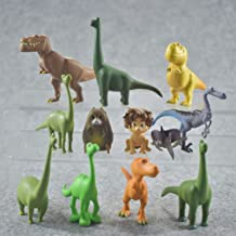 Movie Collectible Figure Set - 12 Pack For Decoration or Cake Topper of The Good Dinosaur