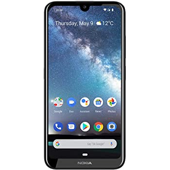 "Nokia 2.2 Fully Unlocked Smartphone with 5.71"" HD+ Screen, 13 MP Camera and Android 10 Ready, Steel (AT&T/T-Mobile/Cricket/Tracfone/Simple Mobile)"