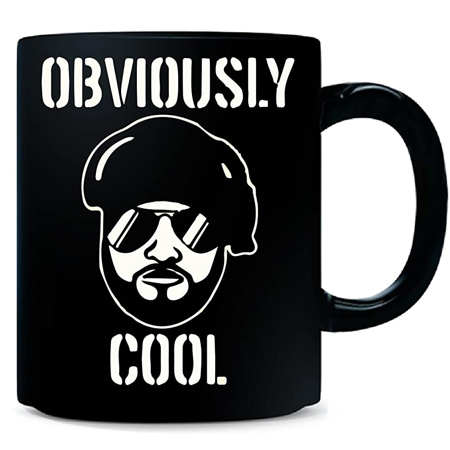 Obviously Cool Guy Got Swag Sunnies Beard One Color - Mug