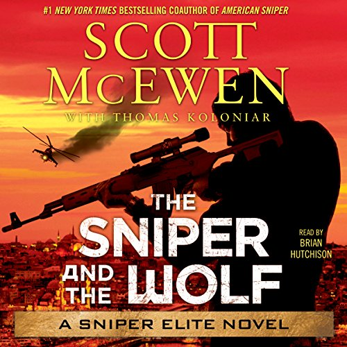 The Sniper and the Wolf audiobook cover art