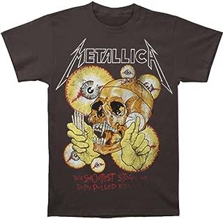 metallica t shirt grey