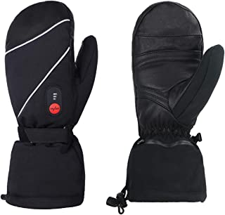 rechargeable battery heated gloves 3 heat 7.4 v