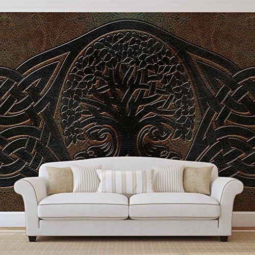 Keltisches Muster - Forwall - Fototapete - Tapete - Fotomural - Mural Wandbild - (2831WM) - XXXL - 416cm x 254cm - VLIES (EasyInstall) - 4 Pieces