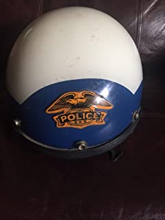 1970's Police Motorcycle/Riot Helmet made by Premier