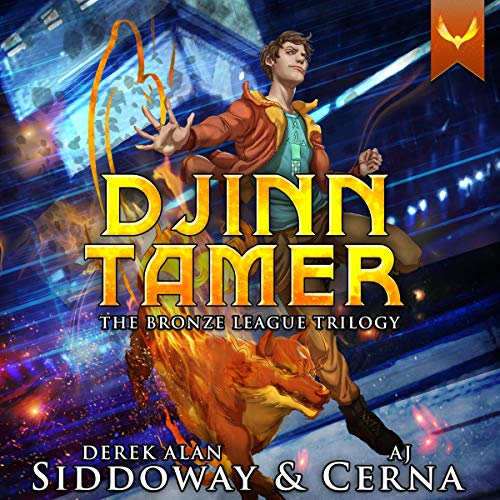 Djinn Tamer: The Bronze League Trilogy Titelbild