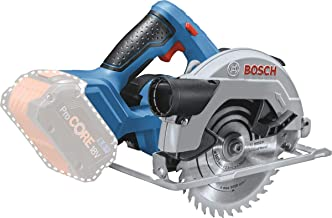 Bosch GKS 18V-57 Professional Cordless Circular Saw The battery-powered all-rounder for all robust sawing jobs (Bare Tool)