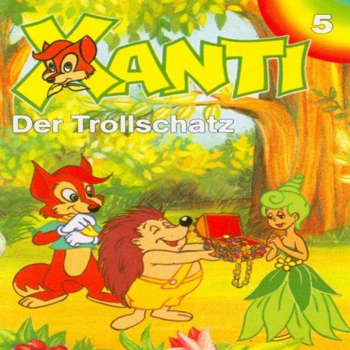 Der Trollschatz (Xanti 5) Titelbild