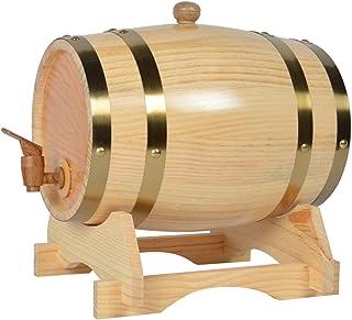 3L/5L/10L/20L/30L Rhum Récipient,Distributeur De Vin En Chêne Vintage,Tonneau De Vin En Bois, For Le Stockage Stockage Des...