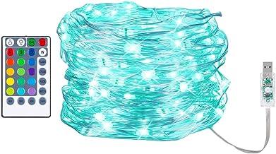 gazechimp Luzes De LED USB Power Lâmpadas De Corda Decoração De Casamento De Festa Jardim Externo 10 M