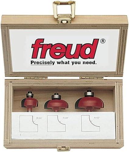 discount Freud 89-550 3-Piece Cove Router sale Bit outlet online sale Set outlet online sale