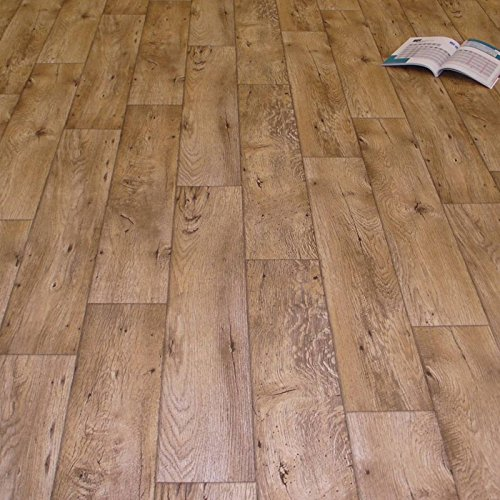 PVC Bodenbelag Holz Rustikal Natur (Musterstück in DIN A4)