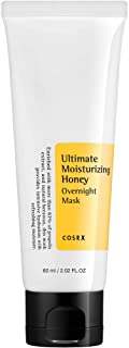COSRX Ultimate Moisturizing Honey Overnight Mask, 60ml / 2.02 fl.oz   Propolis Extract 87%   Korean Skin Care, Cruelty Fre...