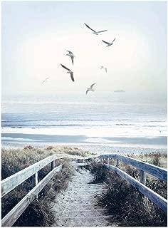 Hoffman Digital Call Of The Wild 32'' Beach Steps Panel Atlantic Fabric