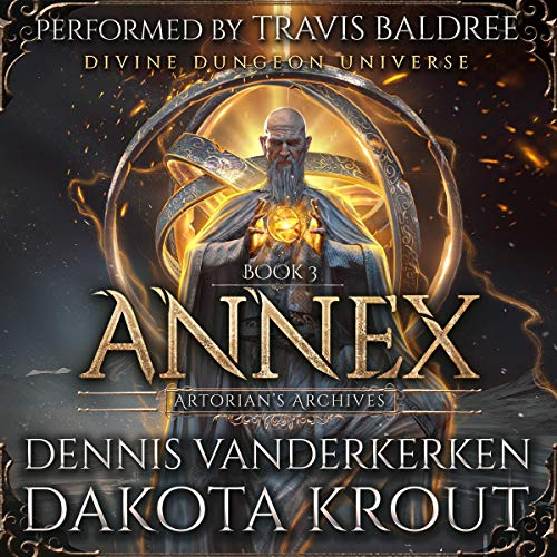 Annex (A Divine Dungeon Series) audiobook cover art