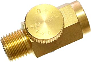 Quickun Pneumatic Air Pressure Regulator Valve, 1/4