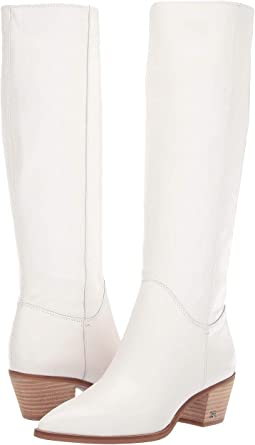 Bright White Nappa Verona Leather